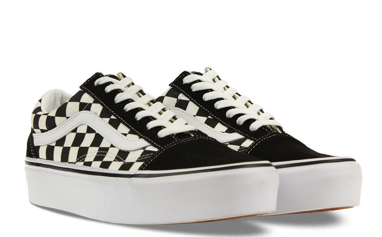 Vans UA Old Skool Platform Checkerboard Dames